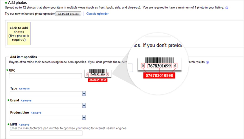 How Do You Handle Ebay S Product Identifiers Webinterpret Help
